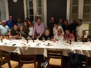 foto de los asistentes a la cena homenaje